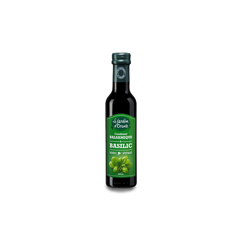 Condiment balsamique & Basilic