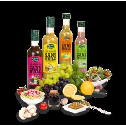 Sauce salade sans huile Citron et Basilic