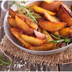 Frites de rutabaga à l'ail et au romarin