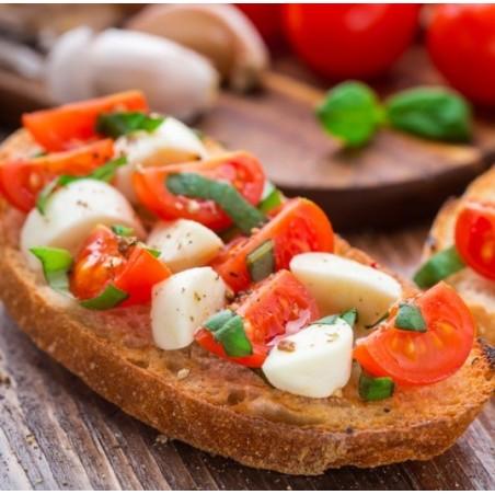 Bruschette Tomate Mozzarella