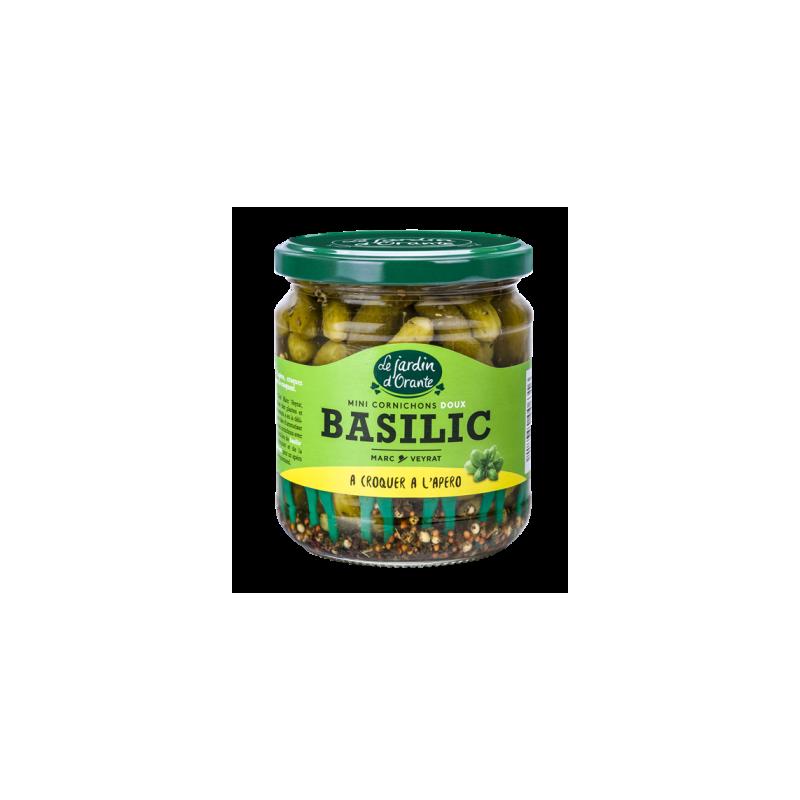 Mini Cornichons Basilic
