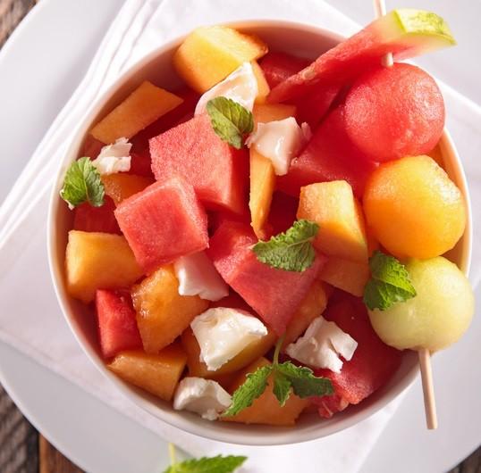 Salade melon past que au balsamique - Salade de pasteque ...