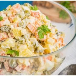 Salade piémontaise aux cornichons