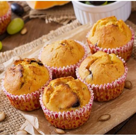 Muffins au chèvre & raisin