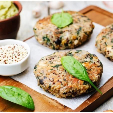Steaks végétariens aux aubergines