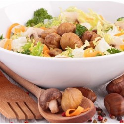 Salade automnale aux marrons