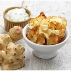 Chips de topinambours épicées