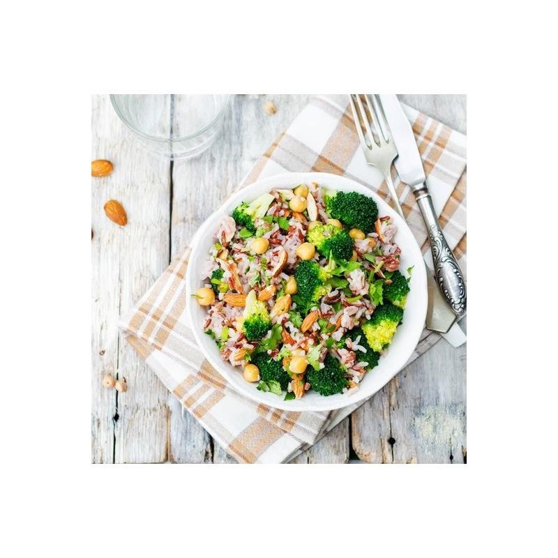 Salade brocoli aux 2 riz