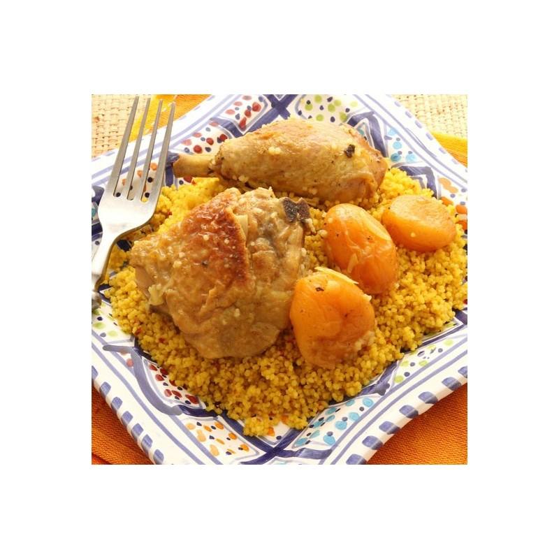 Tajine de poulet à la mangue