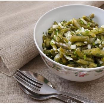 Haricots verts en salade