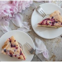 Gâteau aux groseilles et citron