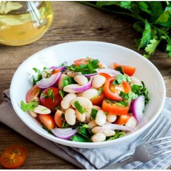 Salade de haricots blancs à l'italienne