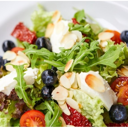 Salade des Pyrénées aux myrtilles