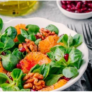 Salade de noix et clémentines