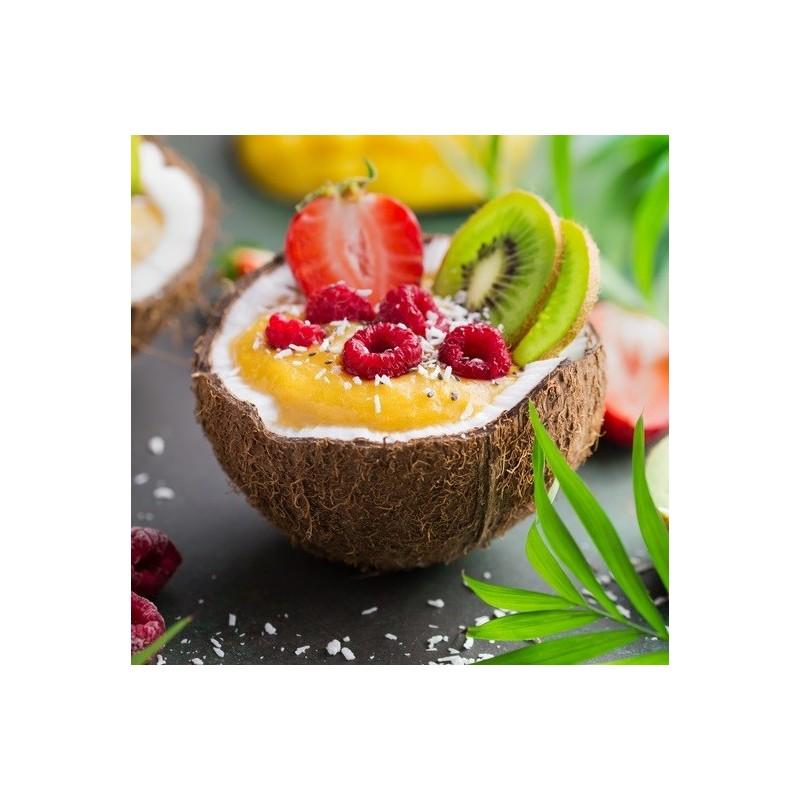 Fresh smoothie à la noix de coco