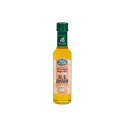 Huile d'olive Bio vierge extra saveur Ail & Romarin