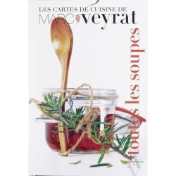 Les cartes de recettes de soupes de Marc Veyrat