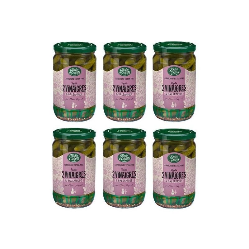 cornichons balsamique