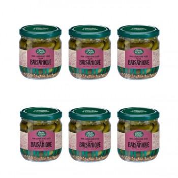 cornichons doux balsamique