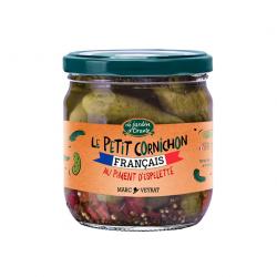 Le Petit Cornichon Français au Piment d'Espelette