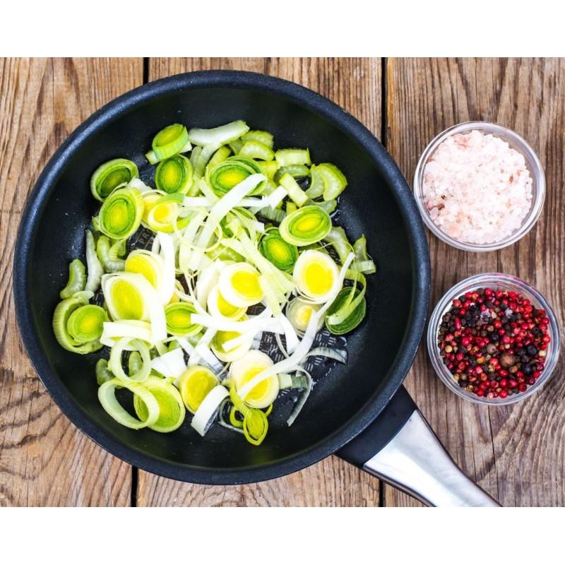 fondue de poireaux huile d'olive