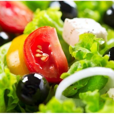 Salade cassis & chèvre