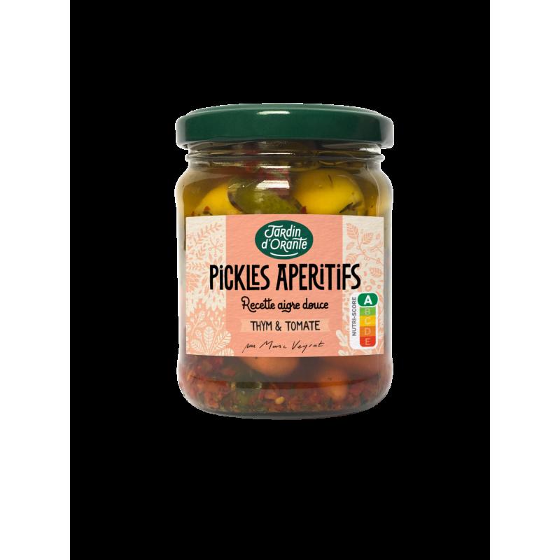 pickles apéritifs jardin d'orante