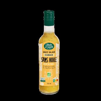 Sauce salade sans huile Bio Dijonnaise
