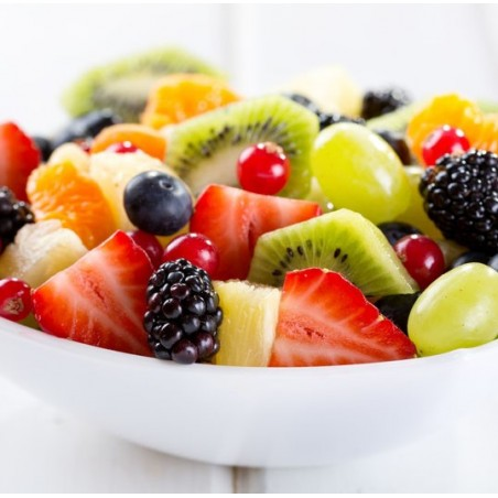 Salade de fruits au vinaigre balsamique